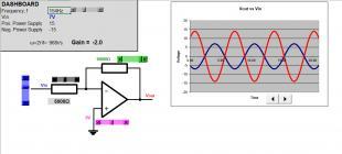 Op-Amp: inverting circuit