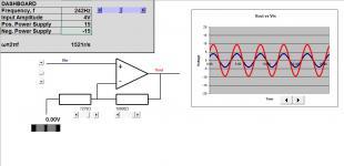 Op-Amp: non-inverting circuit
