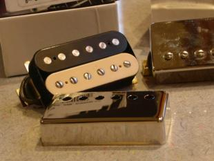 Image of humbucking guitar pickup