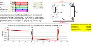 Voltage Drops around a circuit